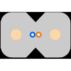 Kabel płaski FTTx (FRP)